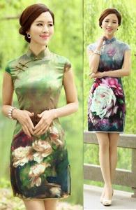 национальные китайские платья 1
