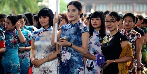древняя китайская одежда 1