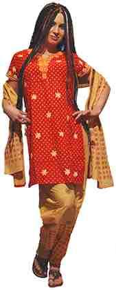 индийская одежда 2