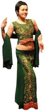 индийская одежда - ленга-чоли
